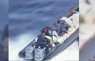 İspanya'da film gibi uyuşturucu operasyonu: 2 ton esrar ele geçirildi