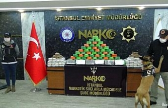 İstanbul'da 110 kilo eroin ele geçirildi