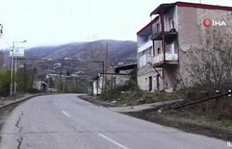 Azerbaycan işgalden kurtarılan Laçın şehrinin görüntülerini yayınlandı