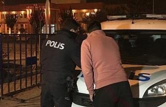 Kısıtlamaya aynı kavşakta ikinci kez yakalandı, 6 bin 300 lira ceza yedi