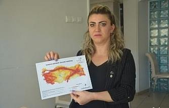 Türkiye'de 18 şehir, 80'den fazla ilçe ve 502 mahalle tehlikede