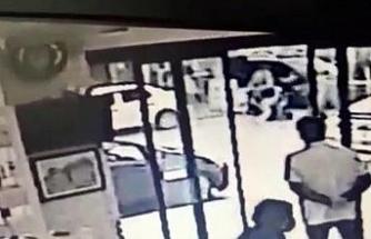 1 kişinin öldüğü silahlı saldırıda dehşet anları güvenlik kamerasında