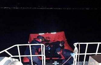 21 düzensiz göçmen kurtarıldı