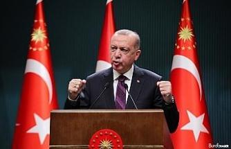 """Cumhurbaşkanı Erdoğan: """"Cumhur İttifakı'yla hep daha büyük projelere imza atacağız"""""""