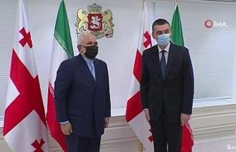 İran Dışişleri Bakanı Zarif, Gürcistan Başbakanı Gakharia ile görüştü