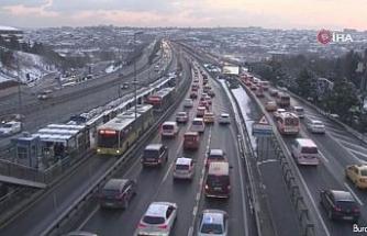 İstanbul'da trafik yoğunluğu yüzde 47'de seyrediyor