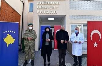 Milli Savunma Bakanlığı, Kosova'da sağlık merkezini yeniledi