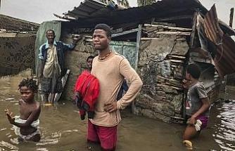 Mozambik'i Eloise Kasırgası vurdu