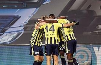 Sarı-lacivertli ekip ilk yarıyı Thiam'ın golüyle 1-0 önde kapattı
