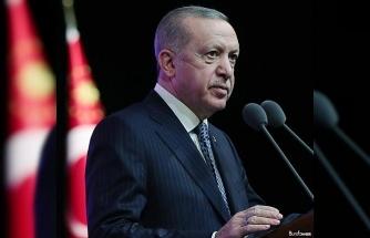 """Cumhurbaşkanı Erdoğan'dan """"8 Mart Dünya Kadınlar Günü"""" mesajı"""