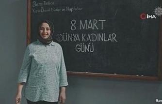 """Cumhurbaşkanlığı İletişim Başkanlığından """"8 Mart Dünya Kadınlar Günü"""" için özel klip"""