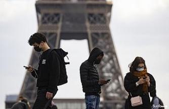 Fransa'da son 24 saatte 21 bin 825 yeni vaka
