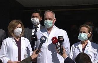 """Rasim Öztekin'in sağlık durumuna ilişkin açıklama: """"Hastanın hayati tehlikesi devam ediyor"""""""