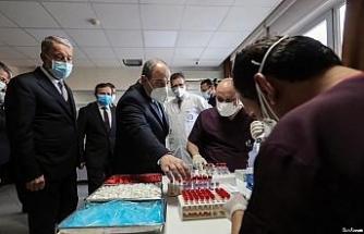 Bakan Varank ve Bakan Akar'dan Kayseri'ye aşı çıkarması