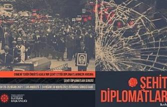 """Cumhurbaşkanlığı İletişim Başkanlığından """"Şehit Diplomatlar Sergisi"""""""