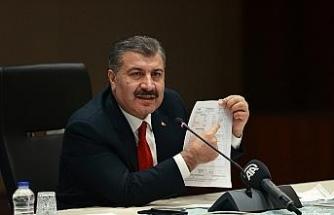 """Sağlık Bakanı Fahrettin Koca: """"İstanbul'da yoğun bakım yataklarımızda doluluk yüzde 71,4"""