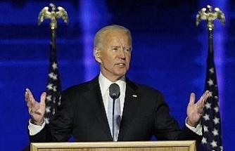 """Biden: """"Filistinliler ve İsrailliler eşit derecede onur ve güvenlik içinde yaşamayı hak ediyor"""""""