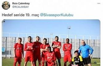 """Rıza Çalımbay'dan iddialı paylaşım: """"Hedef seride 19. maç"""""""