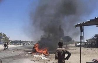 Afrin'de patlama : 1 ölü, 4 yaralı
