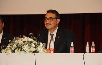 Bakan Dönmez'den Ayancık, Erfelek ve Durağan'a doğal gaz müjdesi
