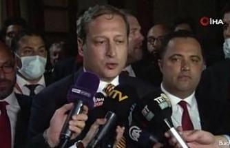 """Burak Elmas: """"Fatih Terim hocamızla görüştük yarın sabah Florya'da idmanlara başlayacak"""""""