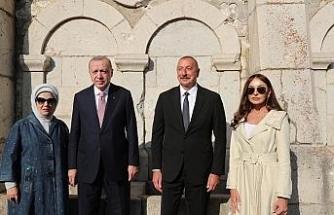 """Cumhurbaşkanı Erdoğan: """"Şuşa'da en kısa sürede inşallah bir Başkonsolosluk açmayı planlıyoruz"""""""