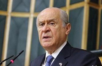 """Devlet Bahçeli: """"Türkiye'nin karışmasını isteyen iç ve dış provokasyonlar devreye alınmıştır"""""""