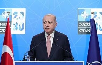 """Erdoğan: """"NATO'nun küresel sınamalar karşısında daha etkin inisiyatifler üstlenmesi gerekmektedir"""""""