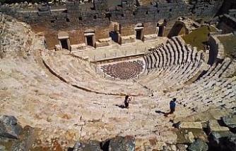 Gladyatörler şehri Kibyra, görenleri hayran bırakıyor