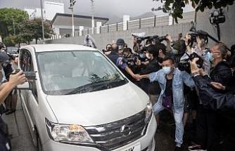 Hong Konglu demokrasi aktivisti Chow serbest bırakıldı
