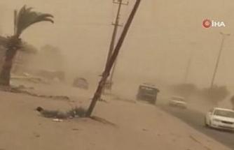 Irak'ın güneyini kum fırtınası vurdu