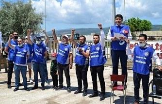 İşçilerden BAGFAŞ'a tam destek