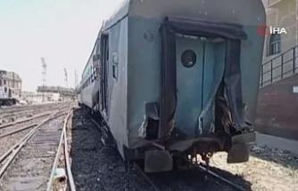 Mısır'da iki tren çarpıştı: 10 yaralı