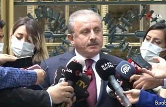 """TBMM Başkanı Şentop: """"Türkiye Büyük Millet Meclisi'nde olan bir kişi değil"""""""