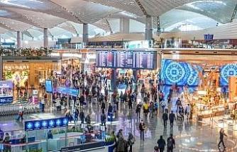 Bayramın tatilinin son gününde İstanbul Havalimanı'nda 159 bin yolcu seyahat etti