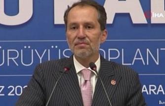 """Fatih Erbakan: """"Gerçekleşen enflasyonun en az 10 puan üzerinde maaş zammı yapılması lazım"""""""