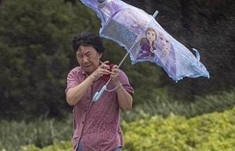In-Fa Tayfunu, Çin'de karaya çıktı