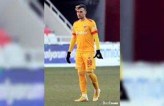 """Kayserisporlu Gustavo Campanharo: """"Kısa sürede takıma katılacağım"""""""