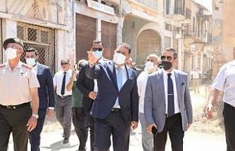 KKTC Başbakanı Saner, Kapalı Maraş'ta açılan bölgeyi ziyaret etti