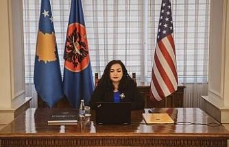 Kosova Cumhurbaşkanı Osmani'den Türkiye'ye dayanışma mesajı