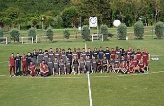 Trabzonspor 1 aylık kampta 34 antrenman yaptı