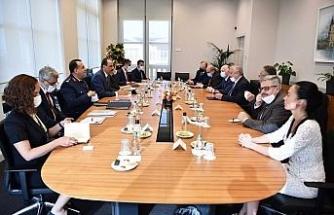 Cumhurbaşkanlığı Sözcüsü Kalın, Rusya Federasyonu Suriye Özel Temsilcisi Lavrentiyev ile görüştü