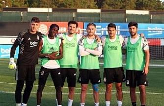 Valentin Rosier, Beşiktaş'la ilk antrenmanına çıktı