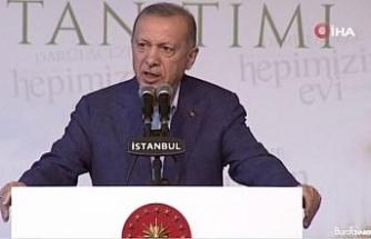 """Cumhurbaşkanı Erdoğan: """"Hiç kimsenin kendisini sahipsiz hissetmeyeceği bir sistem kurduk"""""""
