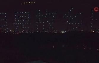 Huawei Mali İşler Direktörü Meng'in Çin'e dönüşü drone gösterisi ile kutlandı