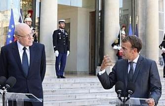 Lübnan Başbakanı Mikati ilk resmi ziyaretini Fransa'ya yaptı