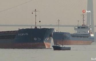 Yeniköy açıklarında iki yük gemisi çarpıştı