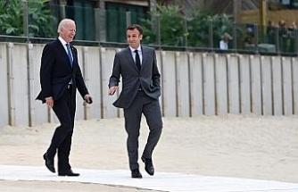 ABD Başkanı Biden, Fransa Cumhurbaşkanı Macron ile görüştü
