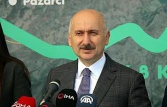 """Bakan Karaismailoğlu: """"Bizim siyaset anlayışımızda Türkiye'nin 'süper güç' olması var"""""""