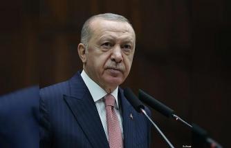"""Cumhurbaşkanı Erdoğan: """"500 milyon dolar hedefine ulaşmak için müşterek gayret sarf etmeliyiz"""""""